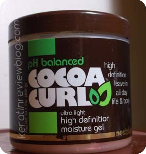 Cocoa Curl High Definition moisture gel